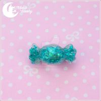 Mint candy Hairclip by CuteMoonbunny