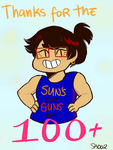 THANK YOU SO MUCH FOR 100 WATCHERS by SeiraAxis002