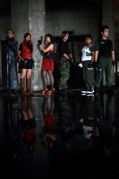 Resident Evil Group Shoot 7 by aiko-mizuno