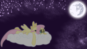 Fluttershy Alone at Night by hunterz263