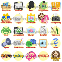 Custom Gallery Icons by TariToons
