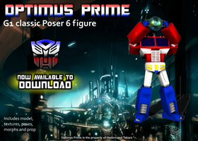 G1 Optimus Prime for Poser DOWNLOAD NOW by RazzieMbessai