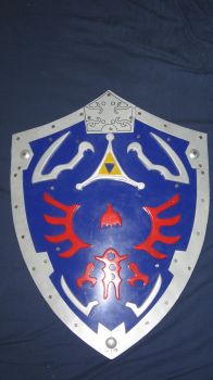 Hylian Shield by darkmaster13