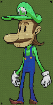 Minecraft - Luigi by luk01