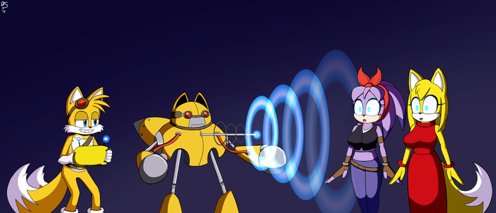 Hypno-Bot's New Targets - made by Dr. Chaos by FallenAngelCam7