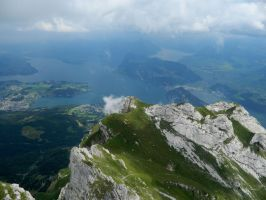 On Mount Pilatus by sythirra