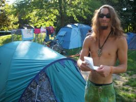 Wild-camping at Contact-Festival Freiburg i.B. by Dominik19