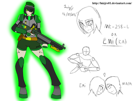 Emi, The Android sniper by luizjrs01