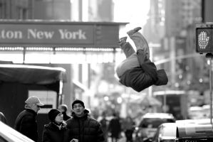 Livewire flip NYC BW by claudiuvoicu