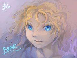 Doodle- Brave by christon-clivef