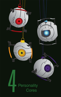 4 Personality Cores by Jmykl