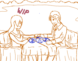 First date WIP by Ask-Arachnid-King