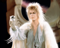 Jareth, the Goblin King. by MarinaSchiffer