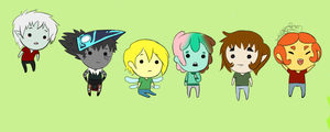 Bro chibis by SharkMate
