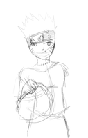 Day 240 - Naruto Halloween WIP by LinkSketchit