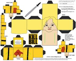 MM4: Beatrix Kiddo Cubee by TheFlyingDachshund