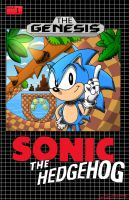 Sonic The Hedgehog issue 1 'The Genesis' by CalebHarms1996