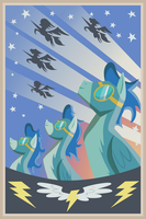 Wonderbolts Poster 20x30 by MisterAlex