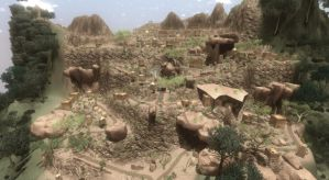 Far Cry 2 Dogon Ville 1 by Rasvashed