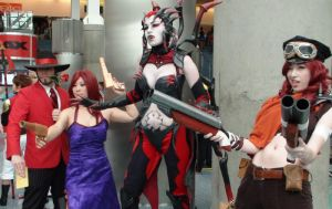 Twisted Fate, Misfortune, Elise, and Misfortune by trivto