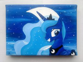 Collage Luna die Zweite by flutterlinchen