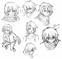 Sketches by HatoriKumiko