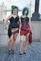 Londinium corsets stock 55th by Random-Acts-Stock