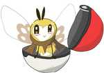 Ribombee Being Cute by SkiddleZIzKewl