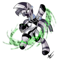 MLP: Blackest Night - Zecora by Cynos-Zilla