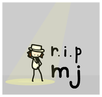 r.i.p mj. by sooperdave