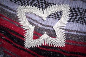 3d origami butterfly by animeperfect