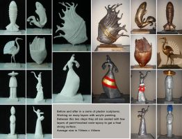 Plaster sculptures tutorial by tonio48