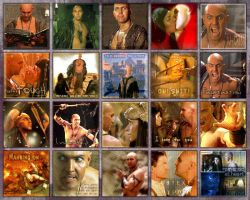 20 Icons featuring Imhotep by Barbayat