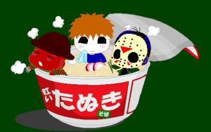 Horror Ramen by sam-the-vampire