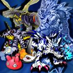 Gabumon Evolution by *KaelinT on deviantART