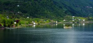 Sailing the fjords to Skjolden 48 by abelamario