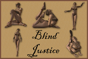 Blind Justice by Stock-by-Dana