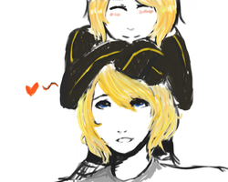 Rin and Len by korinnlane