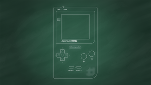 Nintendo Game Boy Pocket [Chalkboard] by BLUEamnesiac