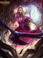 The princess and the Crow - the lost garden by Chaos-Draco