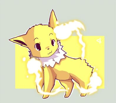 Jolteon V2 by Hiccup-Chan