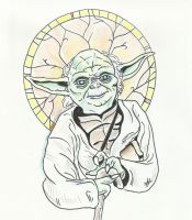 St. Yoda by aquilianranger