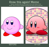 Do It Again Meme - Simple Kirby by riodile