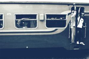 Train and Passengers by vemano88