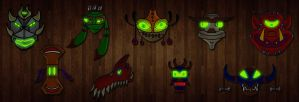 The Tangi Masks by Inkheart7