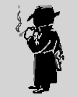 Pixel - Mysterious Stranger Perk 'Fallout Series' by TheMidknightStar
