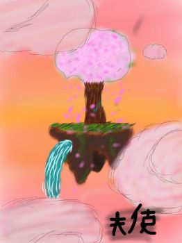Floating Island by LuciferHands