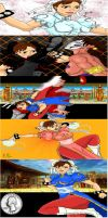 25 Years of Street Fighter by Ironreaver7