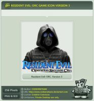 Resident Evil: Operation Raccoon City Icon v3 by CODEONETEAM