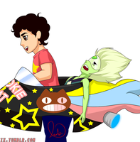 Steven and Peridot by ASuicideDesire333